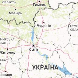 Карта украины померять расстояния
